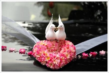 Aranjamente florale masina